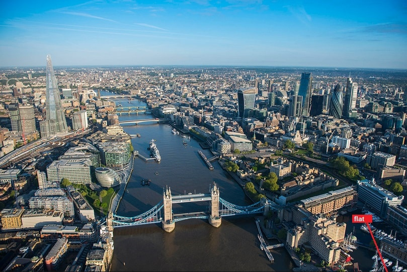Tower Bridge: Amazing location