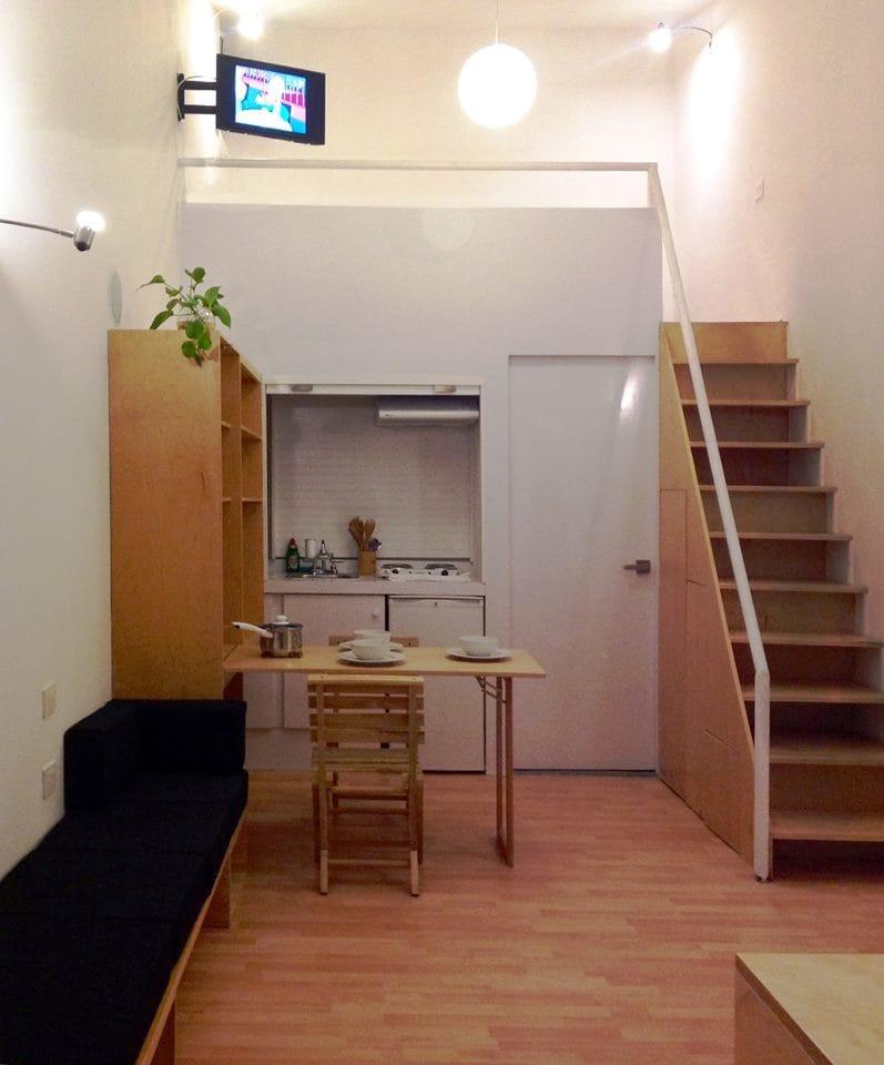 STUDIO C adaptable mini-loft