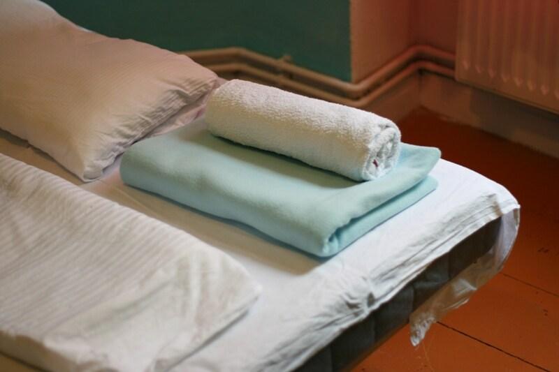 Towels & bed sheets...