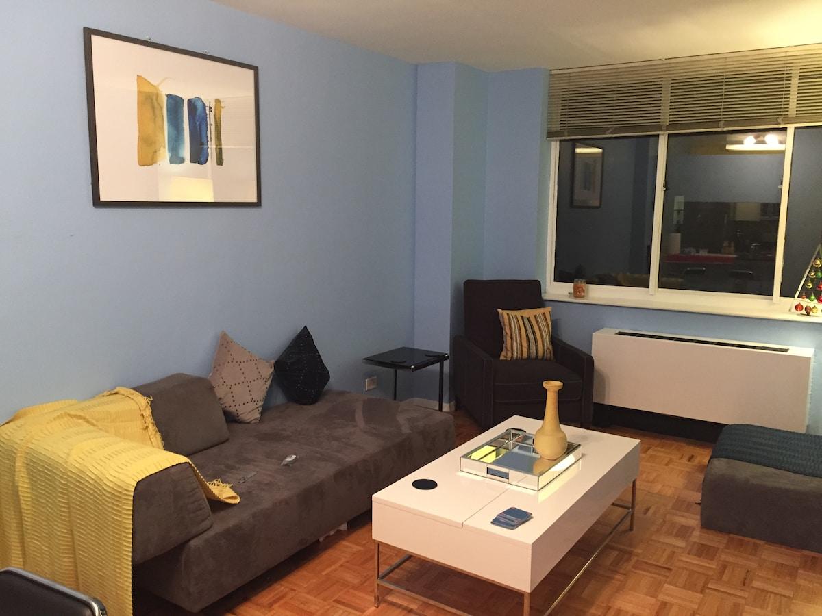 Contemporary 1 Bedroom in Midtown