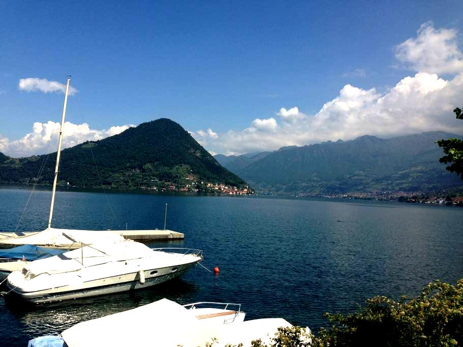 Room in the center of Iseo for Christo - Iseo