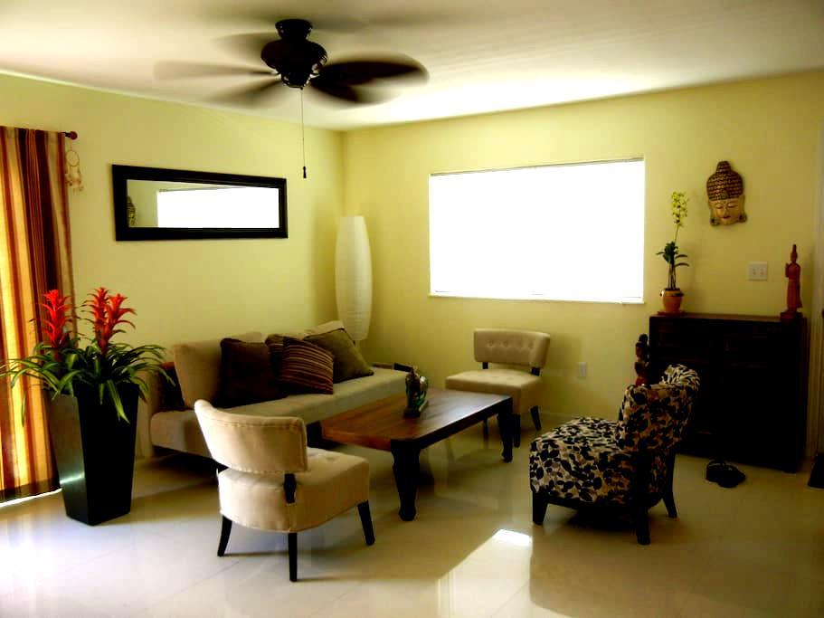 Cozy & New Bedroom (Kaimuki area) - Honolulu - Casa