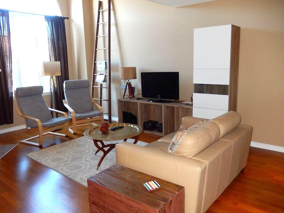 Modern Condo Loft Kanata/Ottawa - Bright and comfy - Ottawa - Casa