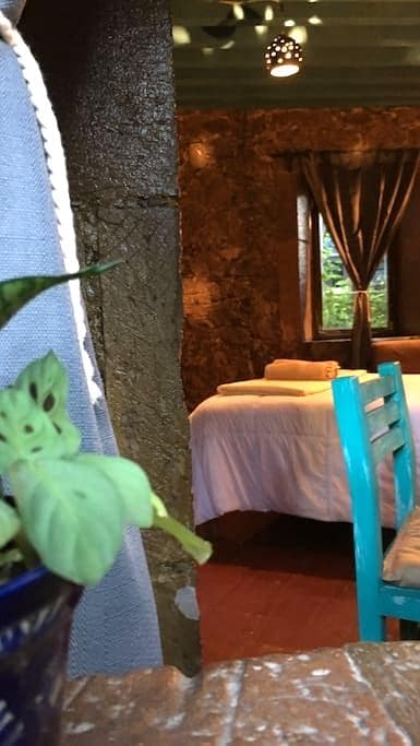 Private room in stone house - Guanajuato - Bed & Breakfast