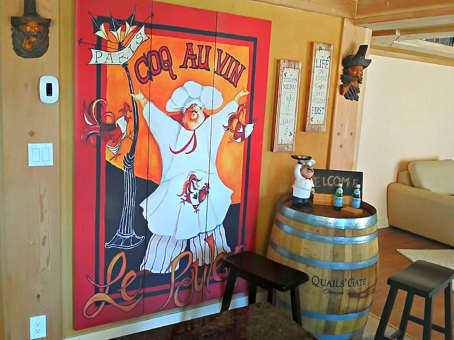 Wine Country B and B - West Kelowna - Lägenhet