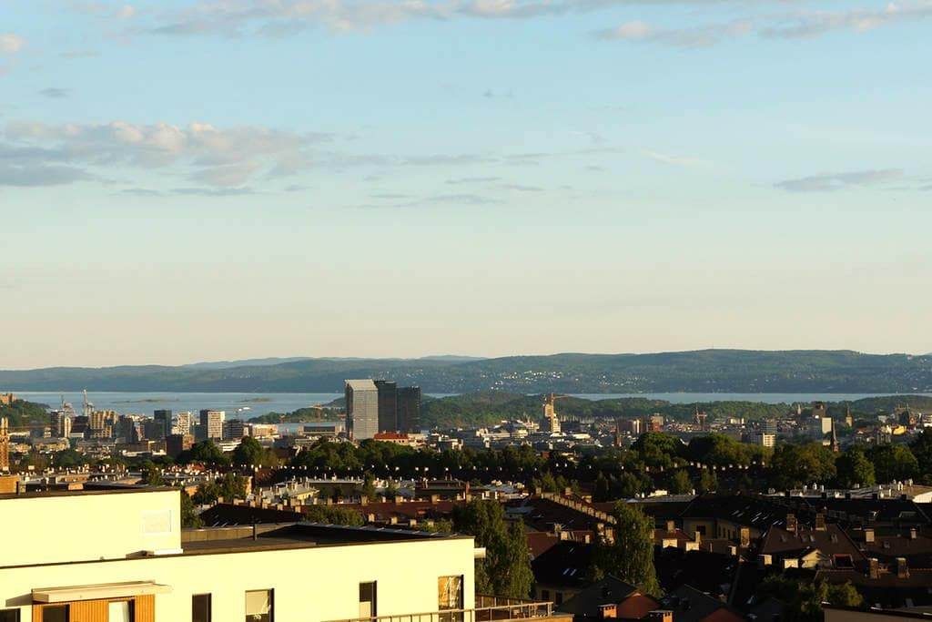 Fresh and new with amazing view - Oslo - Apartmen