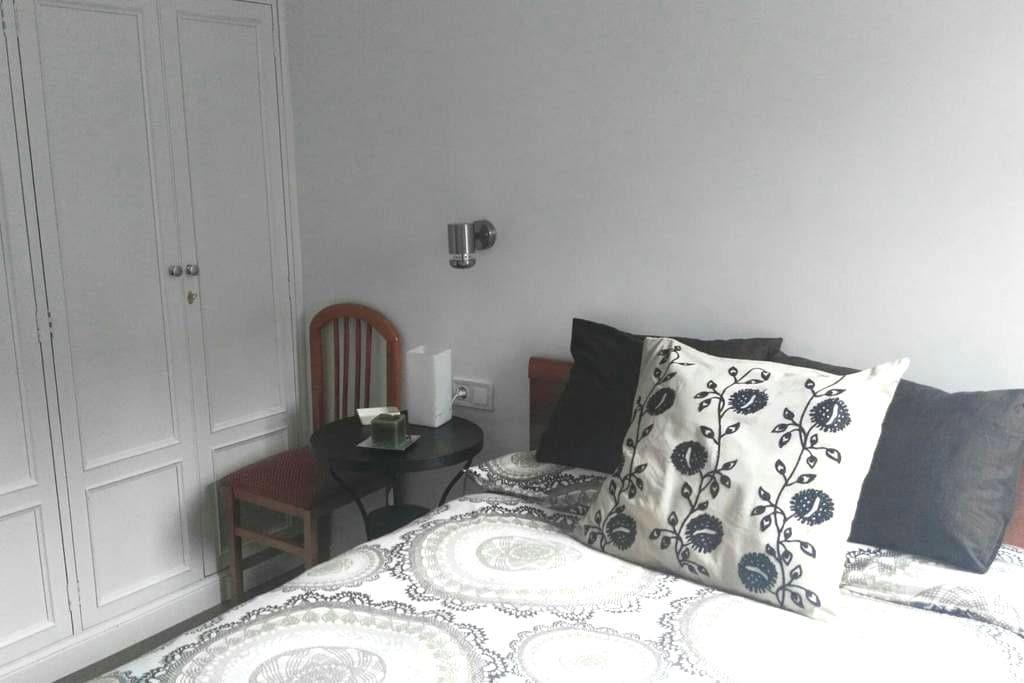 Dormitorio doble muy acogedor - Madrid - Apartamento