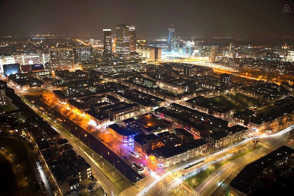 Amazing SkyStudio on 30th floor 734 - Den Haag - Apartamento