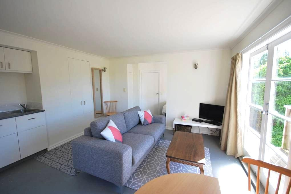 Sunny Studio near the city, with breakfast hamper - Nelson - Apartment