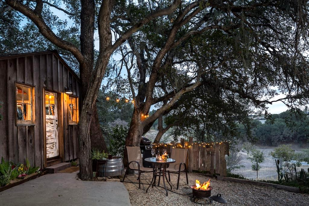 Cabin in heart of wine country - Templeton - Cabane
