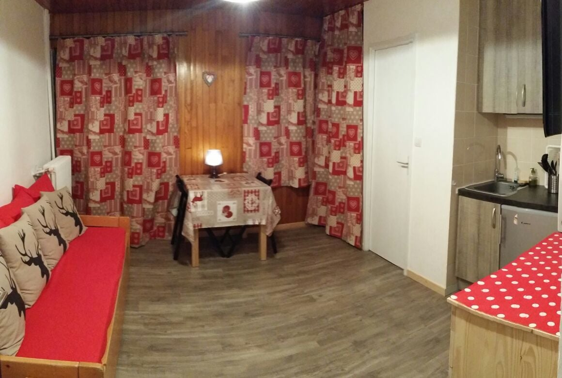 renovated studio 2 persons Tignes
