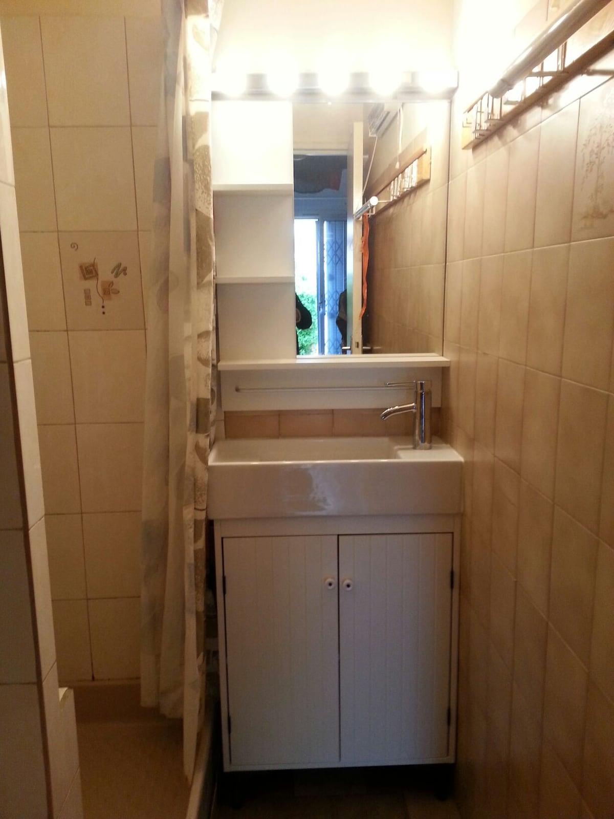 Salle d eau lavabo wc lave linge