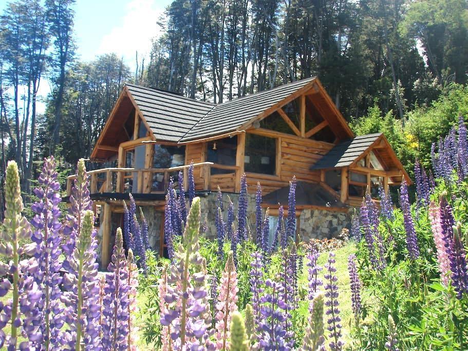 Hab. Verde del Lago-El Descanso B&B - Villa la Angostura
