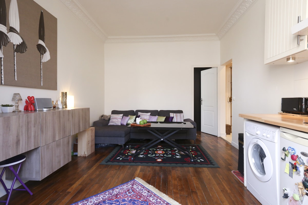 Cute flat at 15 min from Opera