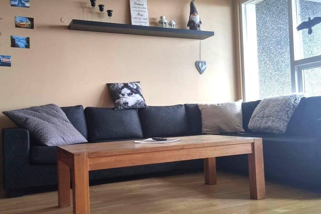 Nice&Cozy Apartment Near Reykjavik - Hafnarfjordur - Lägenhet