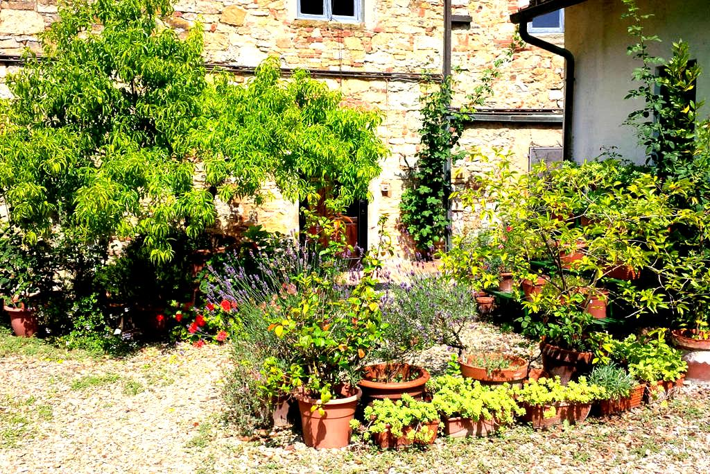 Garden house with pool Tuscany - Pieve A Presciano