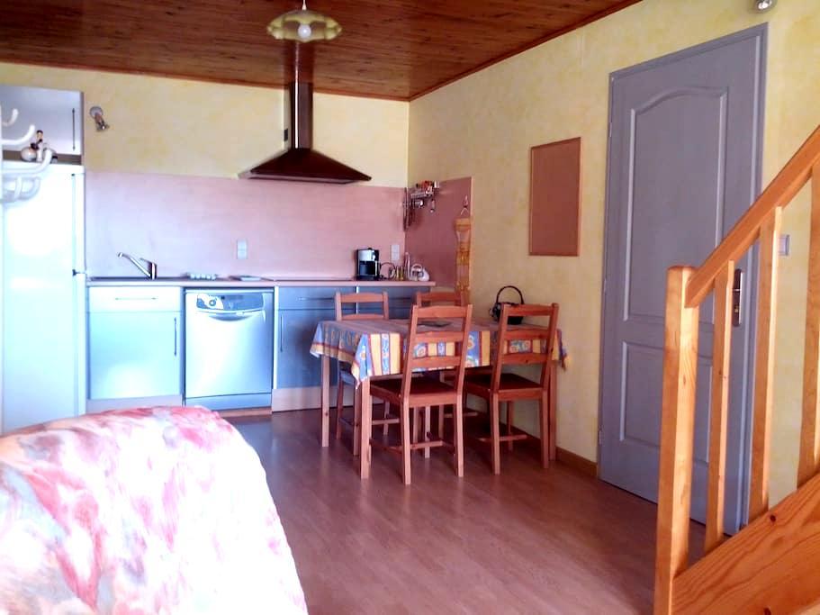 Logement dans maison de village Plateau Hauteville - Champdor-Corcelles - Hotellipalvelut tarjoava huoneisto