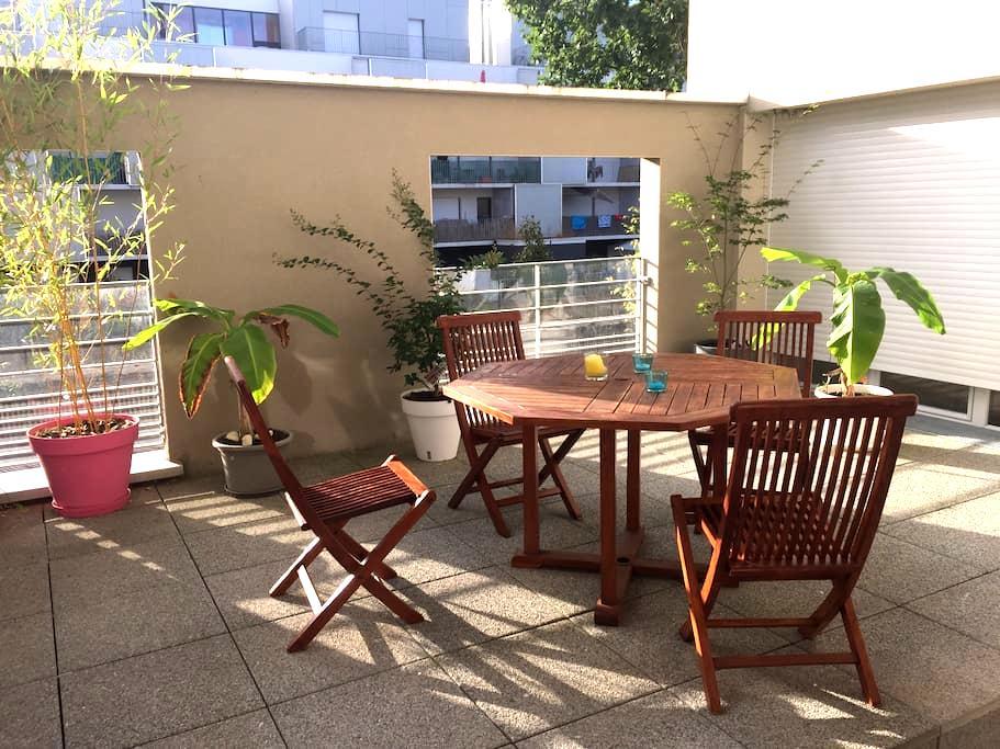 Chambre Nantes- Beaujoire - Nantes - Apartment