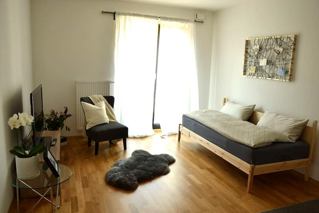 Great flat next to the fair and the skyline plaza - Frankfurt am Main - Apartment