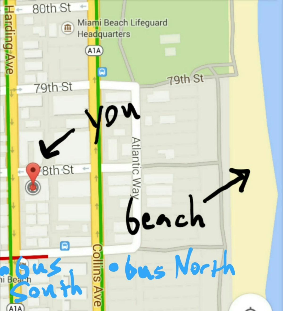 1 Block from the Beach! North Beach