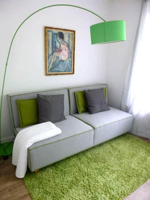 Grüner Salon - Hambourg - Bed & Breakfast