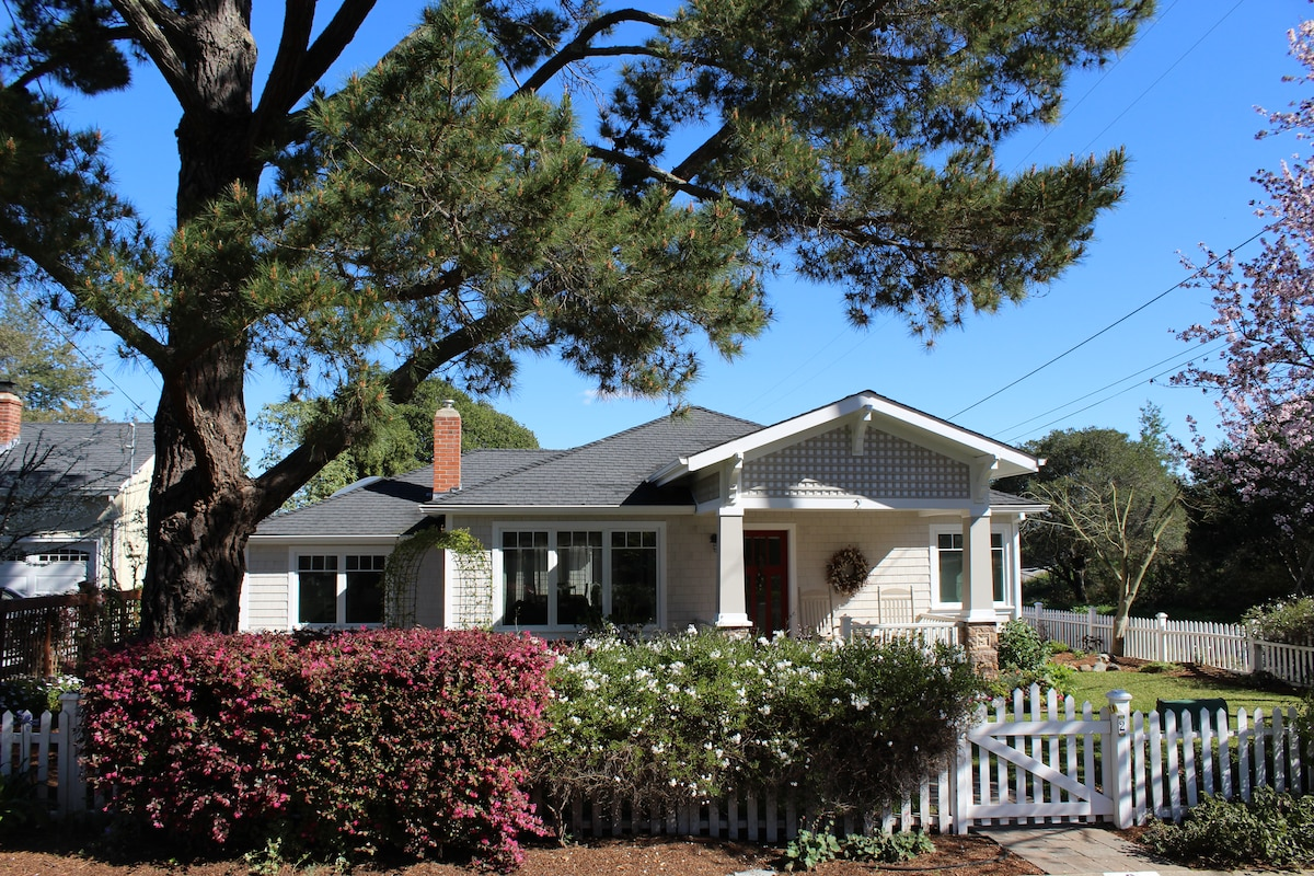 Charming SF Bay Area 2 Bed Cottage