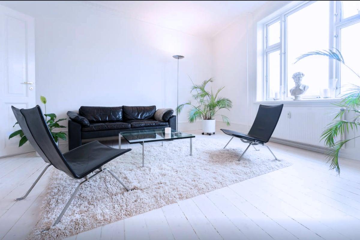 Apartment embassy district Hellerup