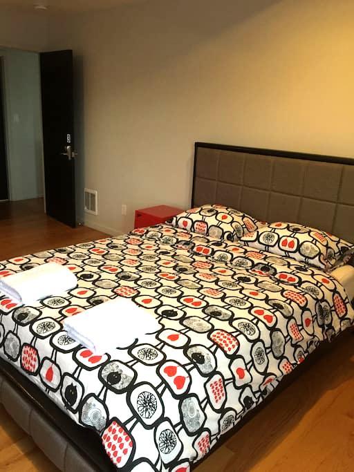 Private bedroom A close to SFO - San bruno - Ev