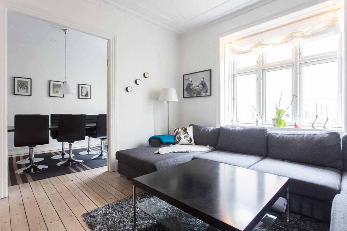 Stylish bright apartment