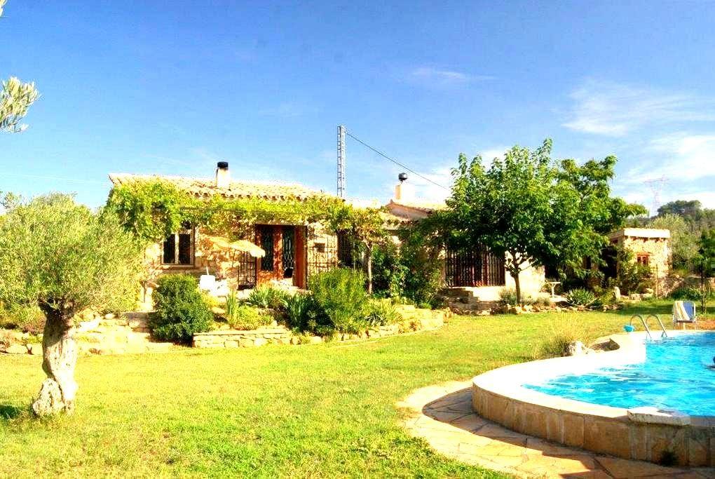 Finca rural con piscina - Sant Mateu - Chalet