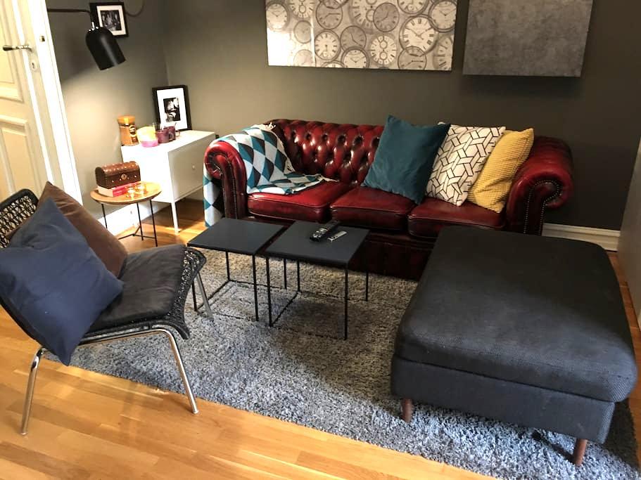 Comfy doublebed in 18m2 room close to Bogstadveien - Oslo - Apartament