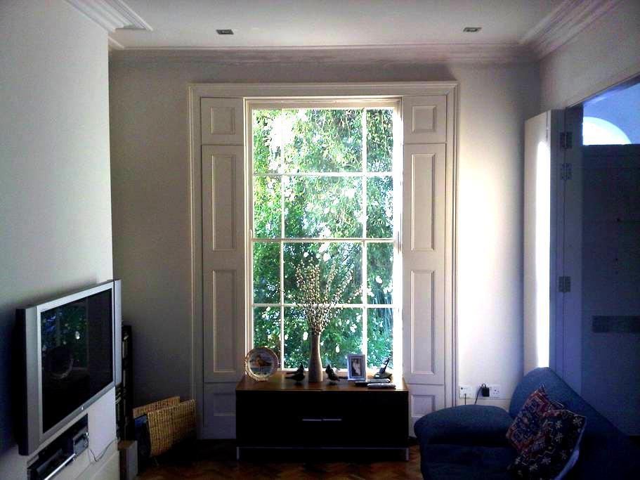 Sunny double room in London Fields - London - Haus