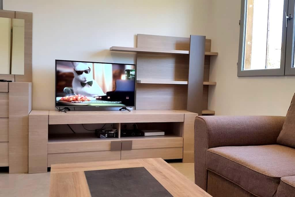 Appartement climatisé avec terrasse Wi FI . - Saint-Marcel-lès-Valence - Flat