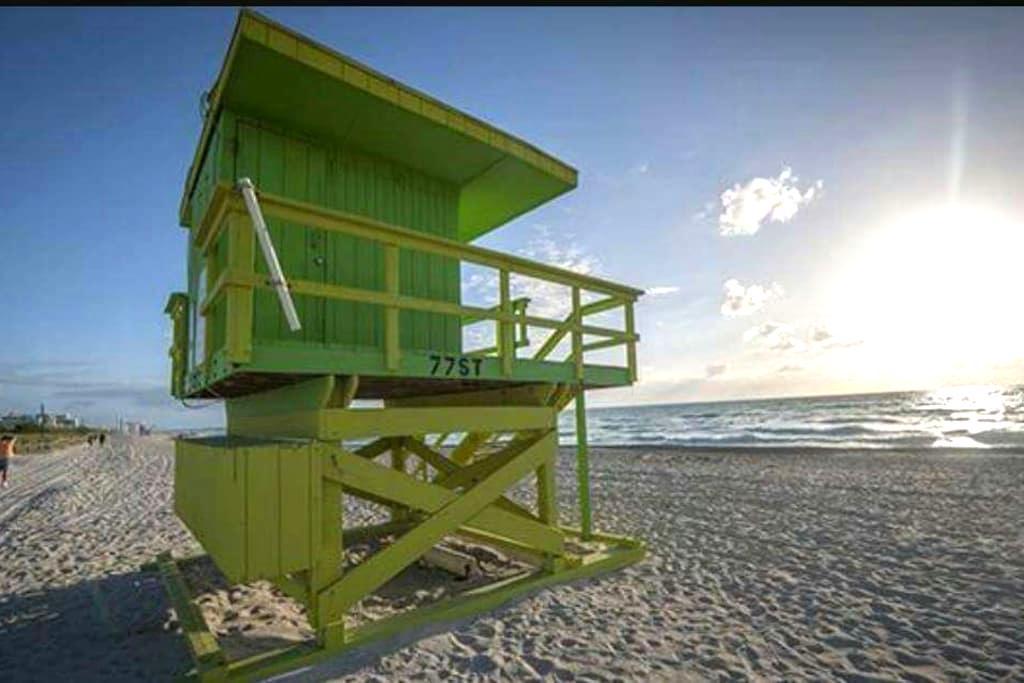 MIAMI BEACH PRIVATE ROOM - Miami Beach - Lägenhet