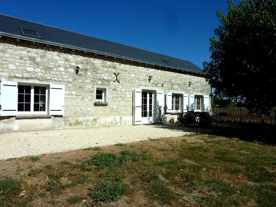 Longère grand Gite - Beaumont-en-Véron - 一軒家
