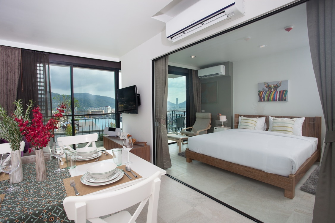 Amazing seaview apartment in Patong