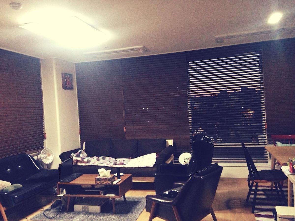 Modern apartment in Seoul