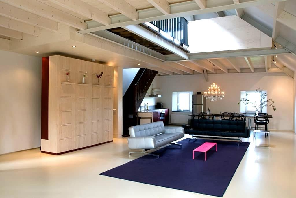 Large stylish loft near Maastricht - Meerssen