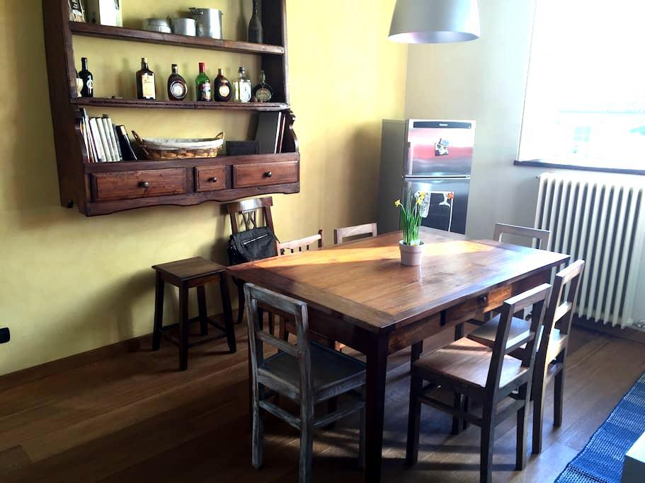 antique/modern spacious apt in centro - Casale Monferrato - Квартира