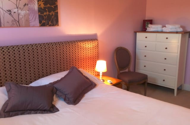 Kingsize bedroom - can split to a twin if required. It also has an en-suite shower room
