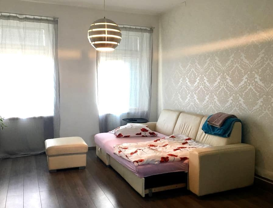 White Apartment in a green garden (separate room) - Brno - Apartamento