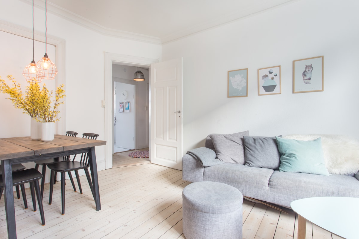 Cozy apartment in Frederiksberg