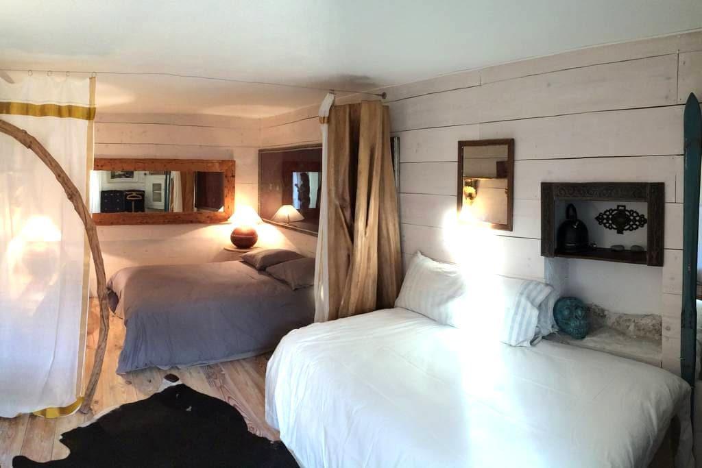 Chambre charmante dans un vieux corps de ferme - Comps-sur-Artuby - Guesthouse