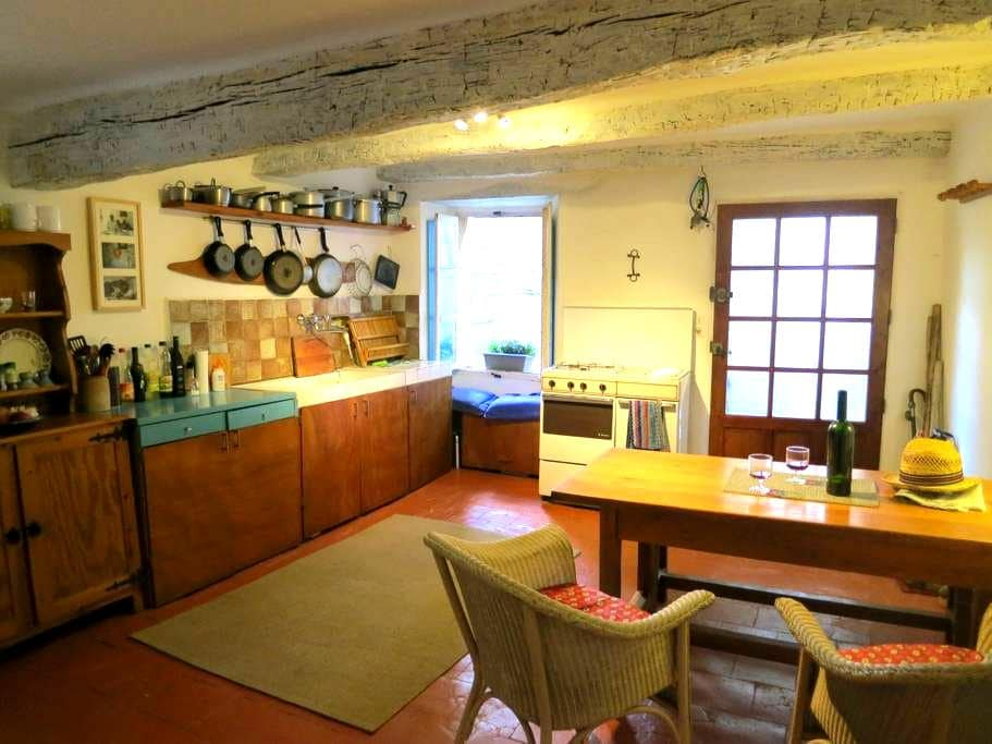 Charming village apartment in La Garde Freinet - La Garde-Freinet - Flat