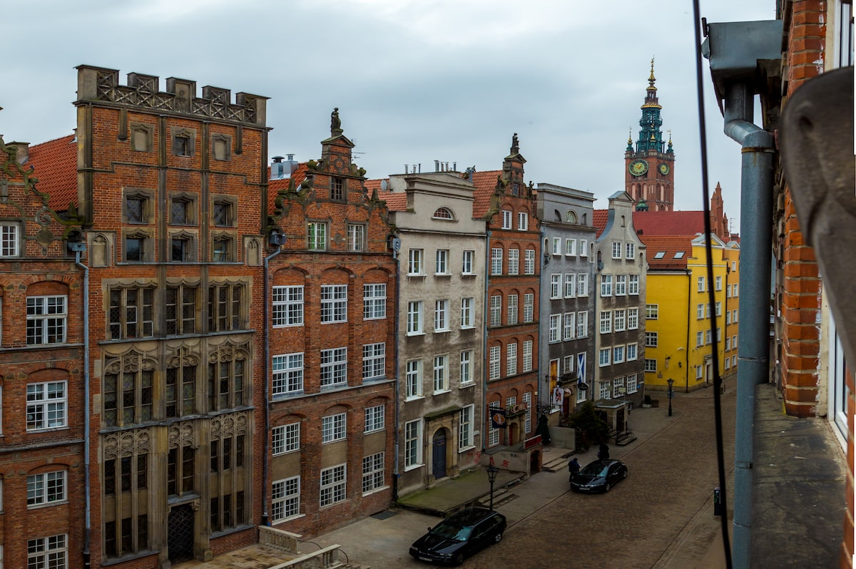 Old town apt in the heart of Gdansk