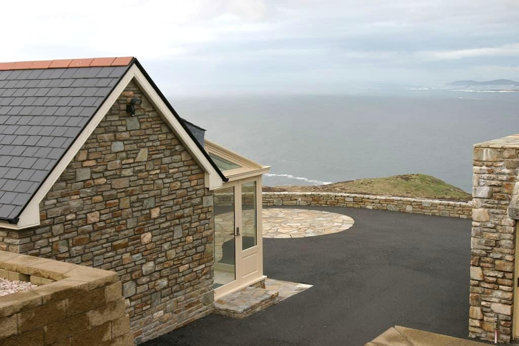 Luxury Cliffside Retreat Ocean View - Donegal - Andere