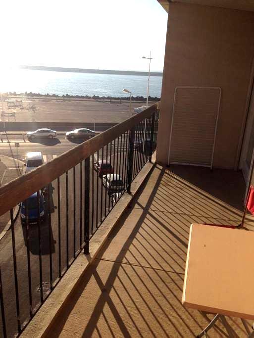 Apartment in quiet, center, sea view - Le Havre