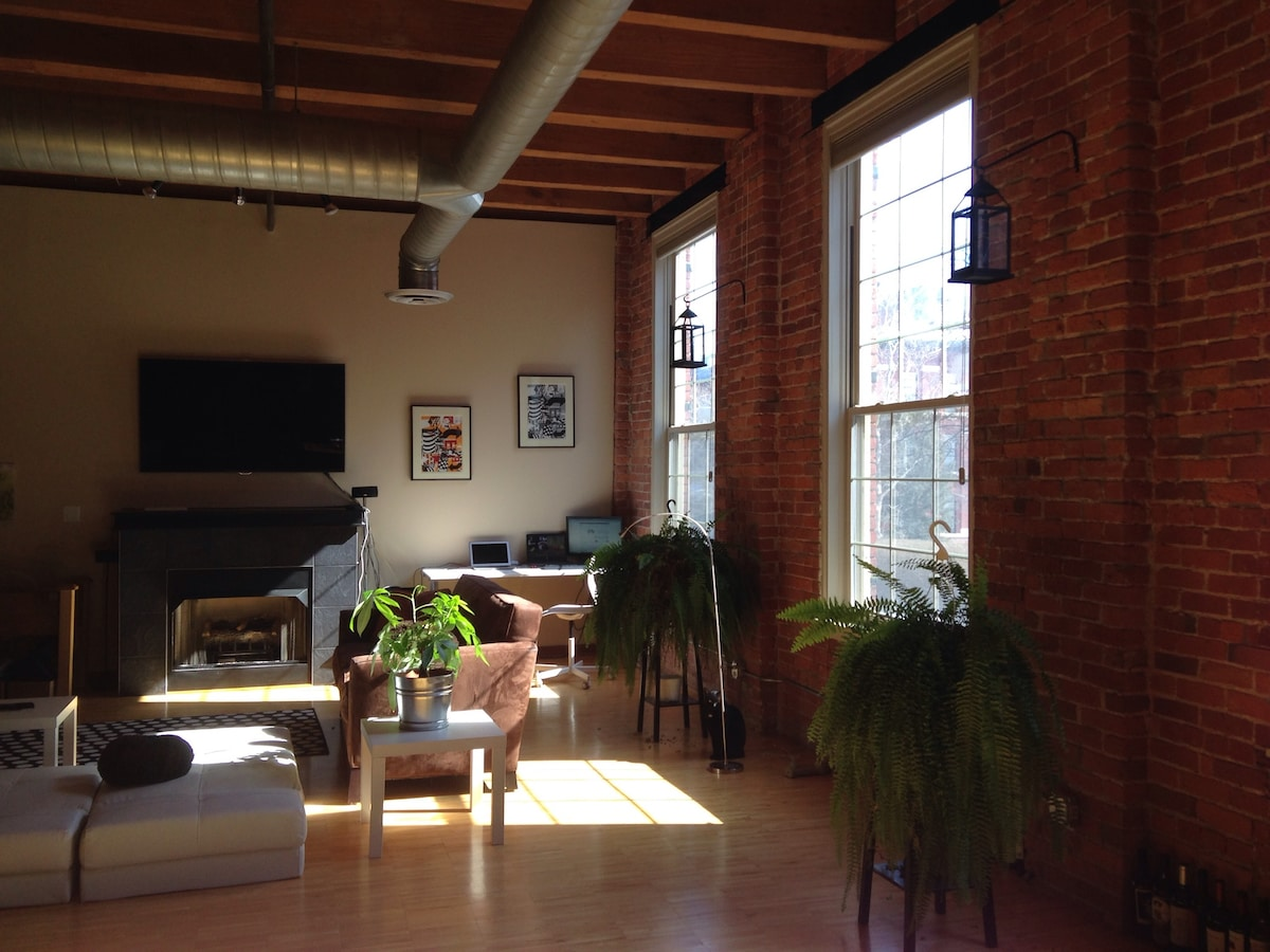Industrial Loft on the Riverfront