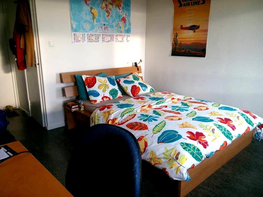Cosy private room, near Stockholm University - Stockholm - Lägenhet