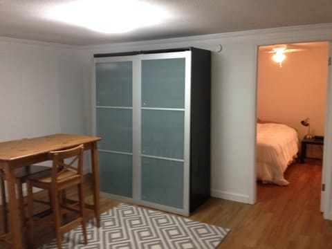 1BD nice clean apt - Walk downtown!